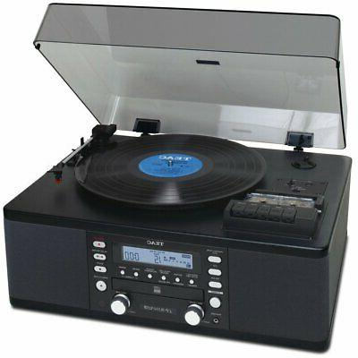 lp r550usb cd recorder with cassette turntable