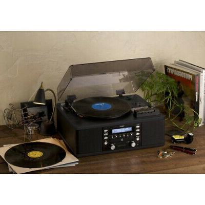 Teac LP-R550USB Turntable with Built-in Recorder