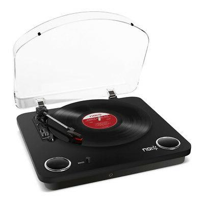 max lp 3 speed convers turntable stereo