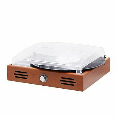 Musitrend Stereo Turntable 3 Speed Record with Built-in