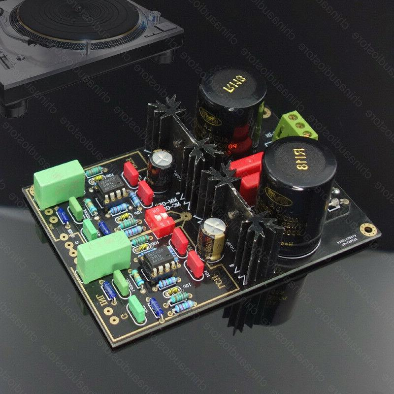 mm mc phono turntable pre amplifier preamp