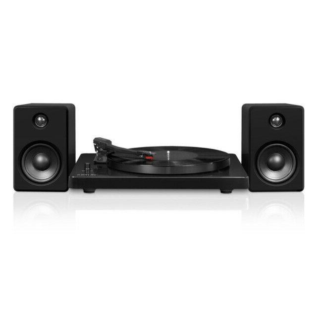 modern turntable bluetooth 50 watt speakers 3