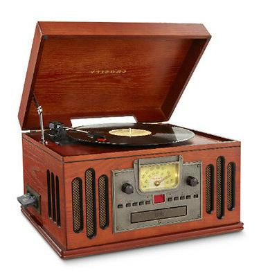 musician compact audio system radio cd turntable
