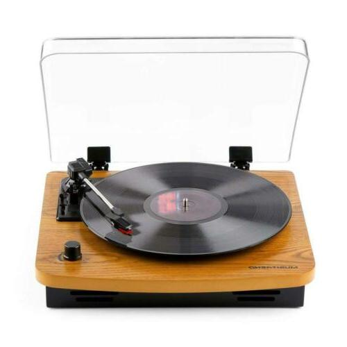 musitrend lp 3 speed turntable with built