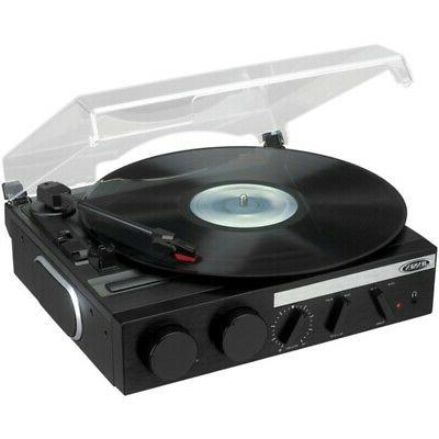 jensen jta 230r 3 speed stereo turntable