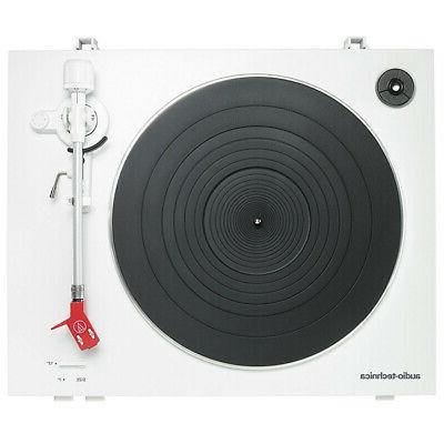 Audio-Technica AT-LP3 Fully Belt-Drive Turntable White