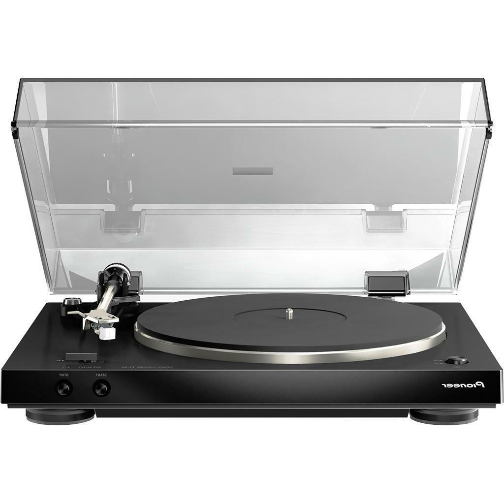 PIONEER PL30K AUDIOPHILE STEREO TURNTABLE W/ DUAL LAYERED CH