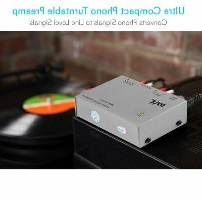 Preamp Pyle Turntable Electronic Stereo Pro NEW