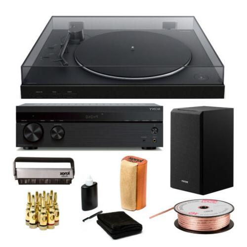 ps lx310bt wireless bluetooth turntable with receiver