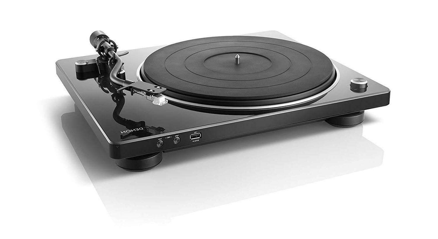 record player black usb recording support dp