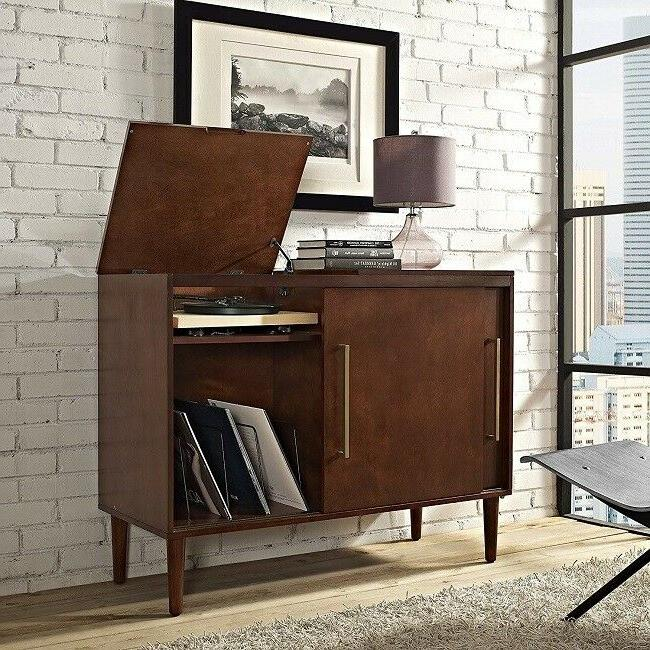record player stand turntable lp storage media