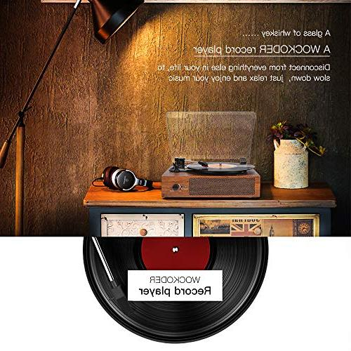 Record Player Turntable Bluetooth Vinyl Record with Style