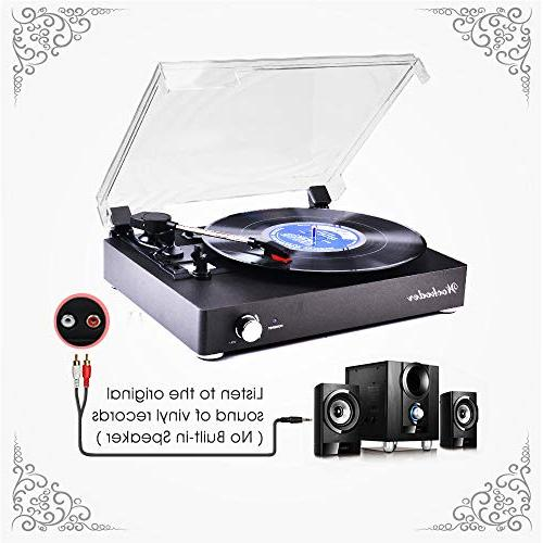 Record Player Portable Vintage Style Record Player