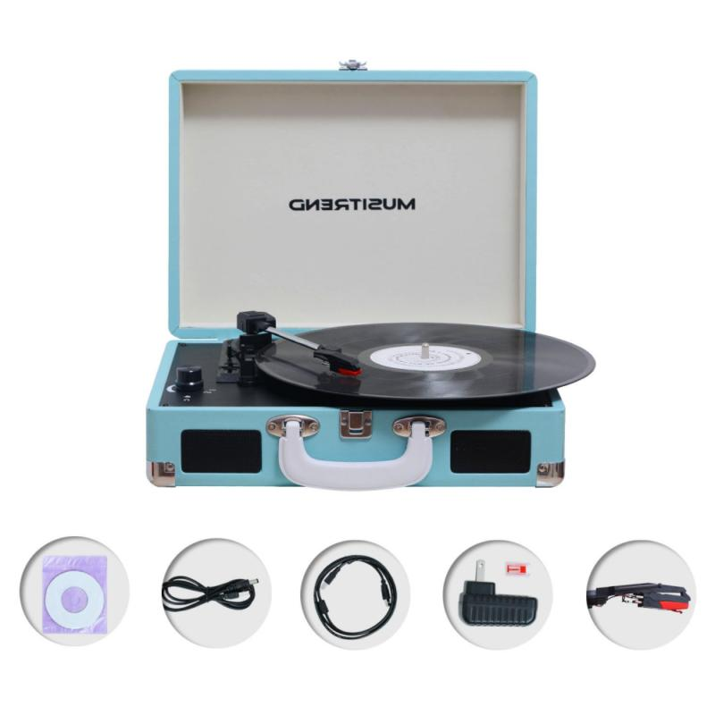 Musitrend Player Turntable 3 Speed