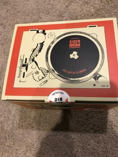 Crosley Mini Turntable Record w/ Foo Big NEW