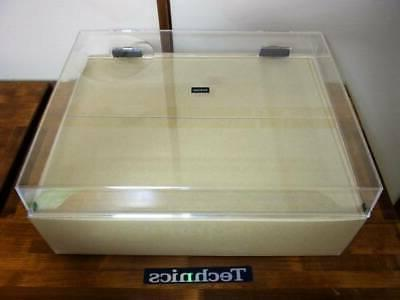 Technics series dust cover genuine with Hinge DJ Table F/S