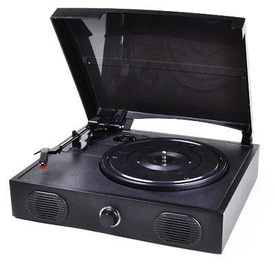VIBE Sound Turntable/Vinyl Archiver Record Player w/Speakers