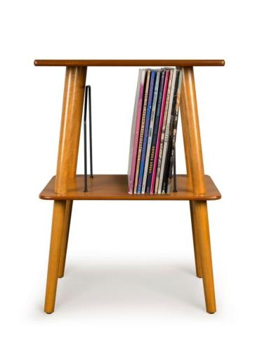 st66 ac manchester turntable stand with wire