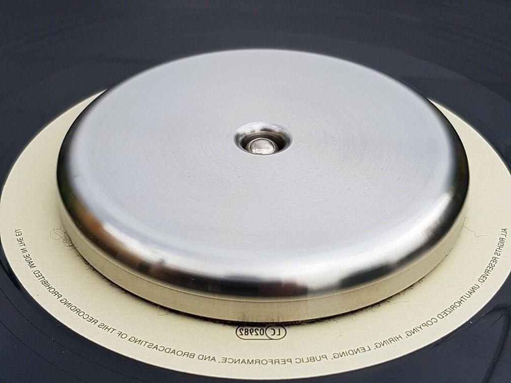 Stainless Steel Record turntable stabilizer weight Approx 36