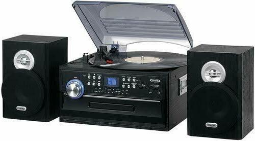 stereo turntable music system