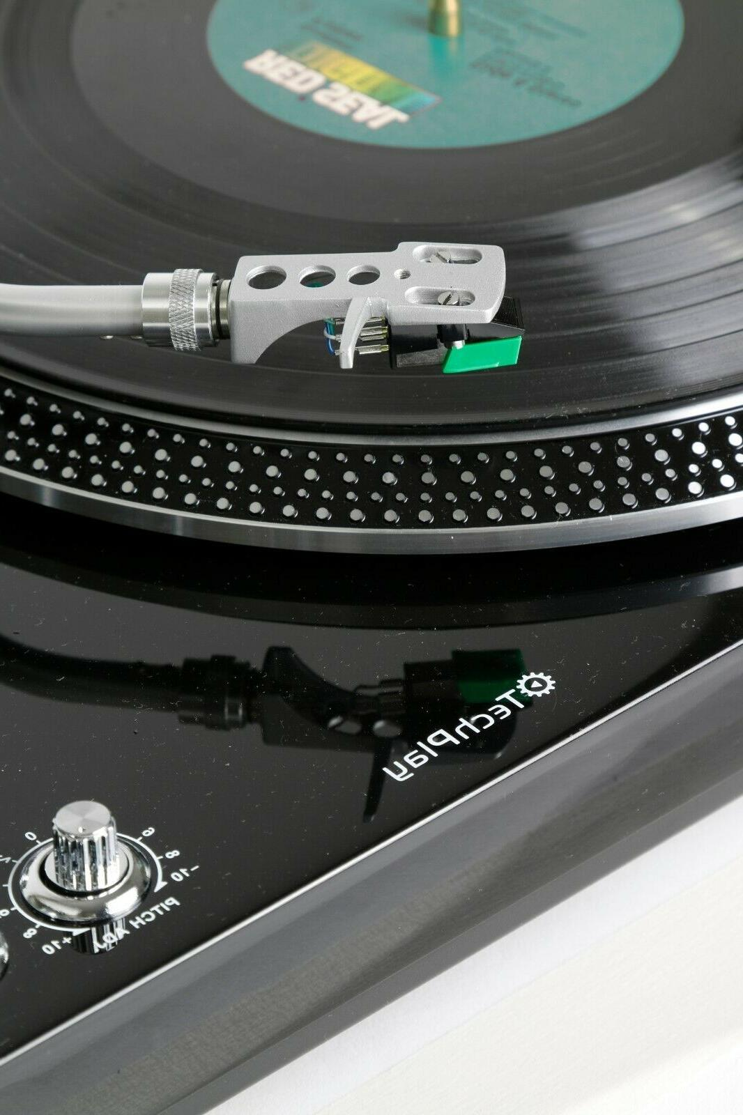 TechPlay TCP4530 Player Turntable 33 RPM Belt RCA Out