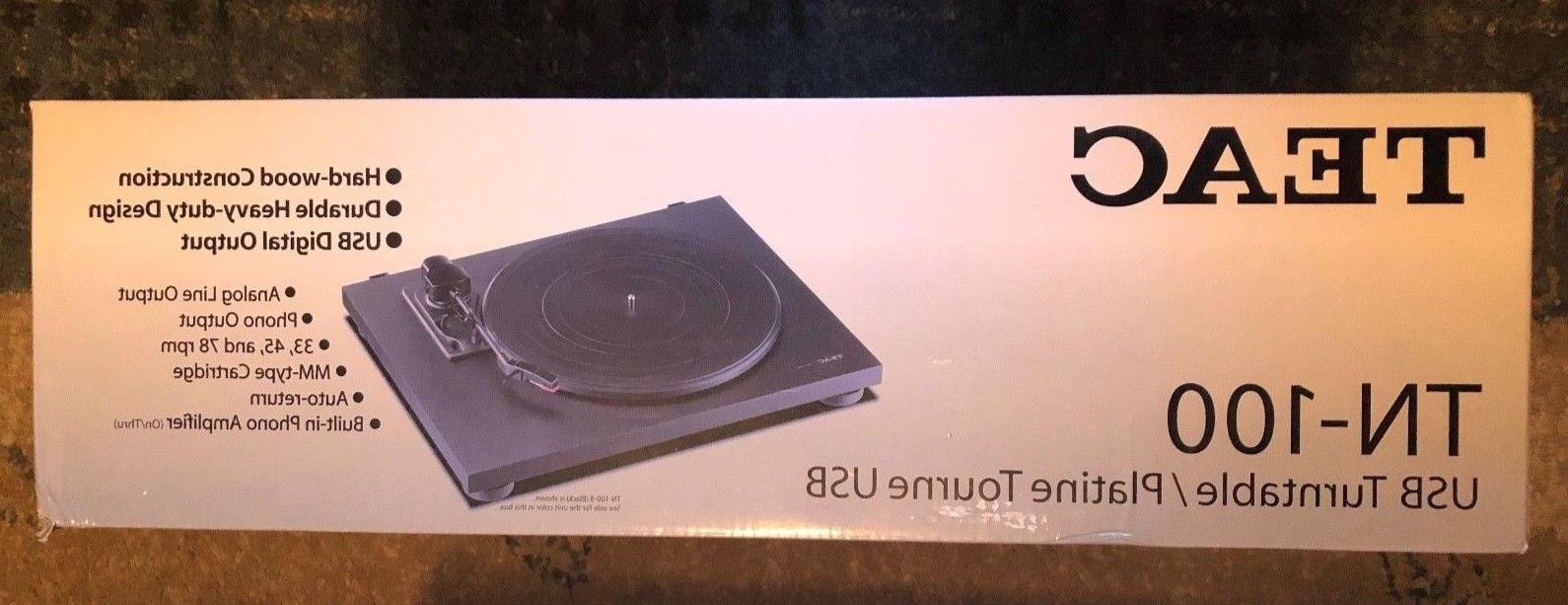 tn 100 new turntable w preamp