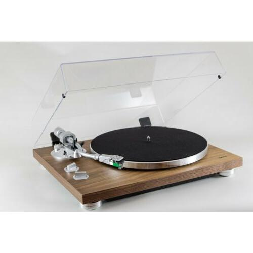 Teac TN-400S-WA Walnut 3-Speed Belt Drive Turntable with Built-in Phono