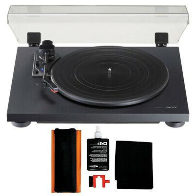 tn180bt turntable and discwasher vinyl record care