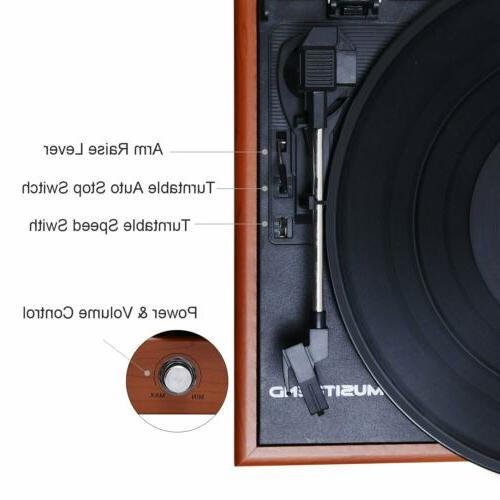 Turntable 3 Player Vinyl to