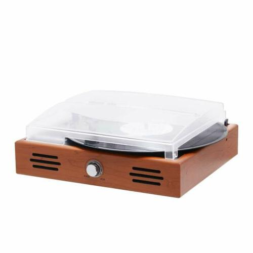 Turntable Speed Player Built-in Vinyl to MP3