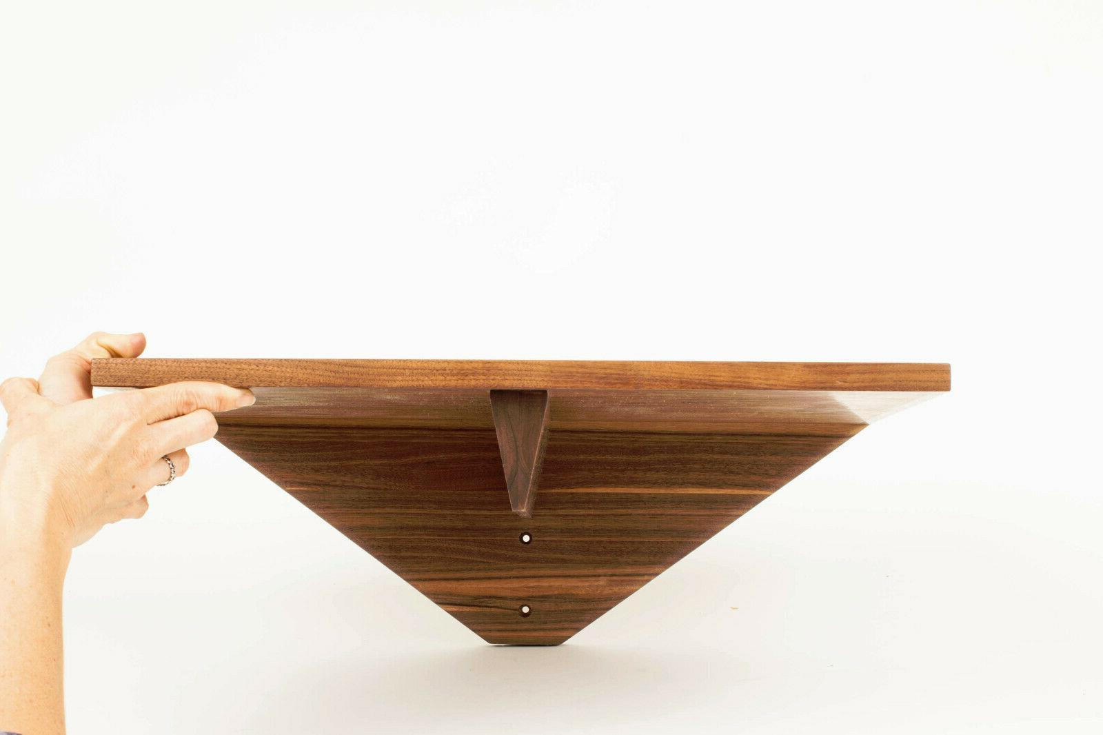 Turntable Shelf / Wall Shelf Rack Black Walnut for Linn Sond