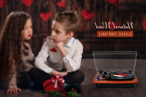 Turntable Wireless & Out in Turntable Vinyl Records 3 Speed Turntable Recording SD Player