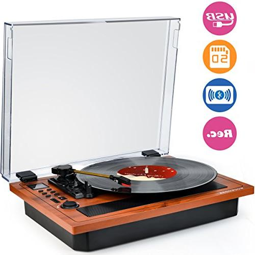 turntable vinyl record player wireless