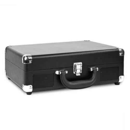 Victrola Suitcase Turntable with Black