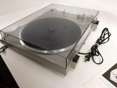 Vintage Direct Drive Turntable Tested and