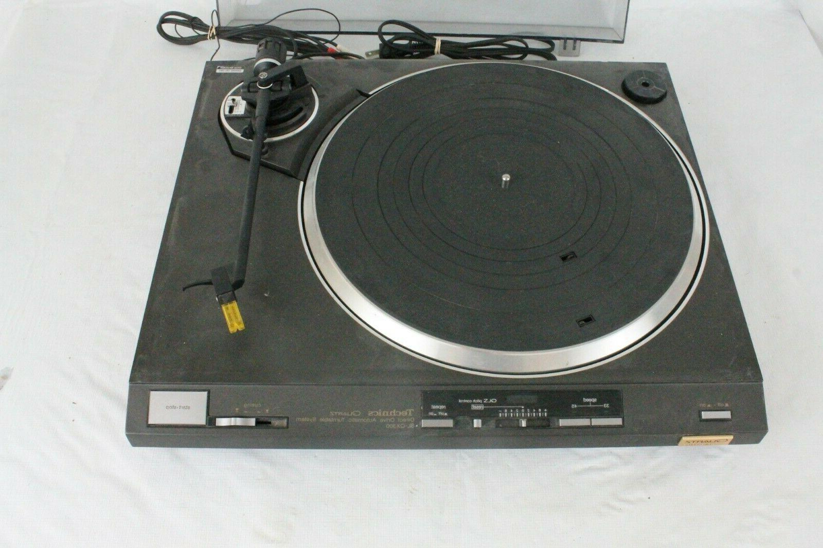 Vintage SL-QX300 Direct Automatic Record Player