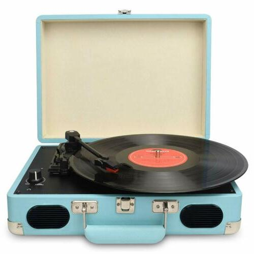 vintage turntable 3 speed vinyl record player