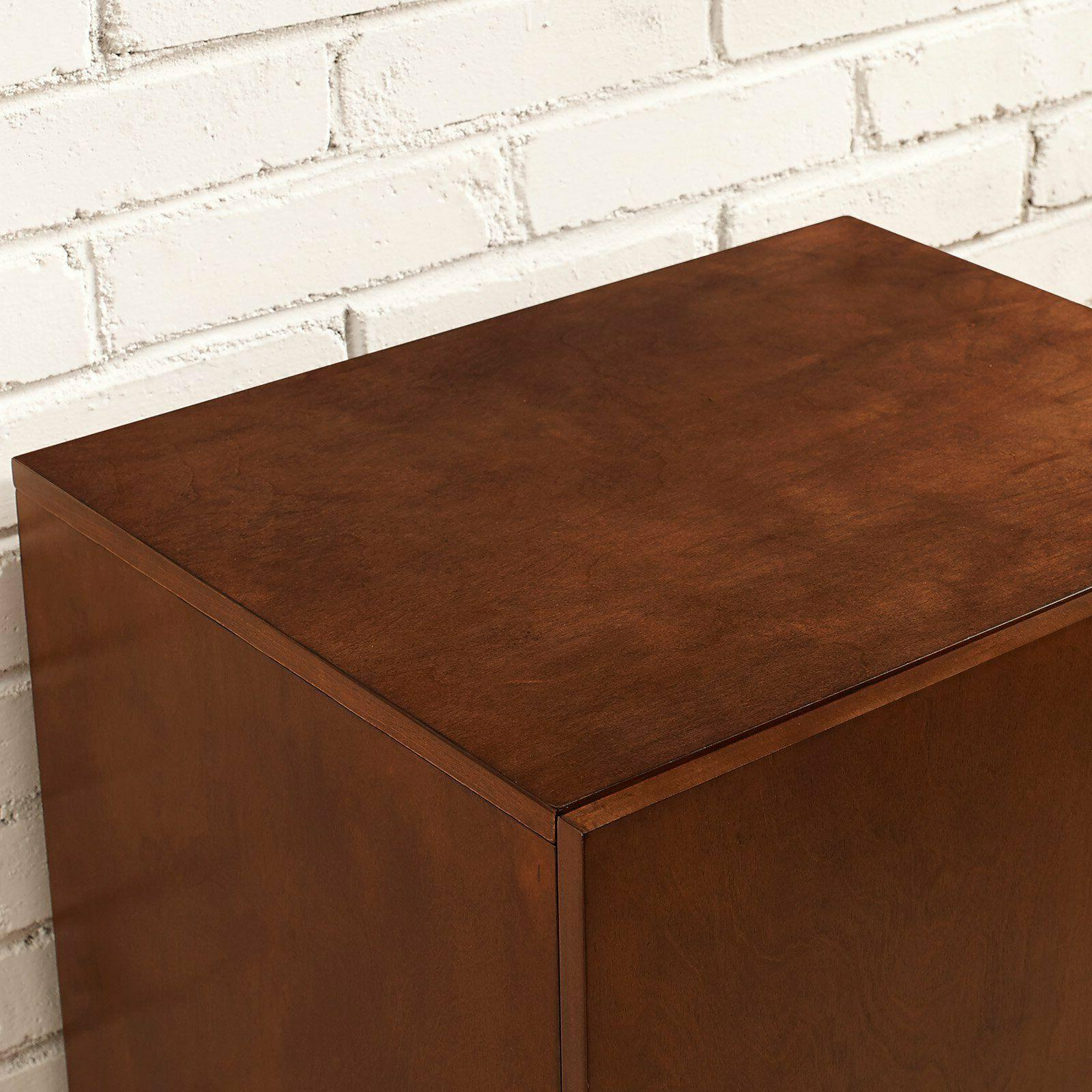 Record Stand Rack Storage Cabinet Furniture