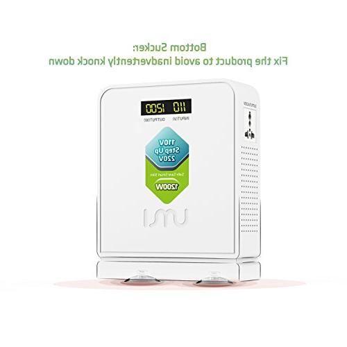 UMI to Voltage 1200W Euro and China Used US with toroidal Transformer Inside,