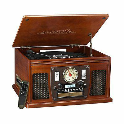 Victrola VTA-600BMH Record Player USB