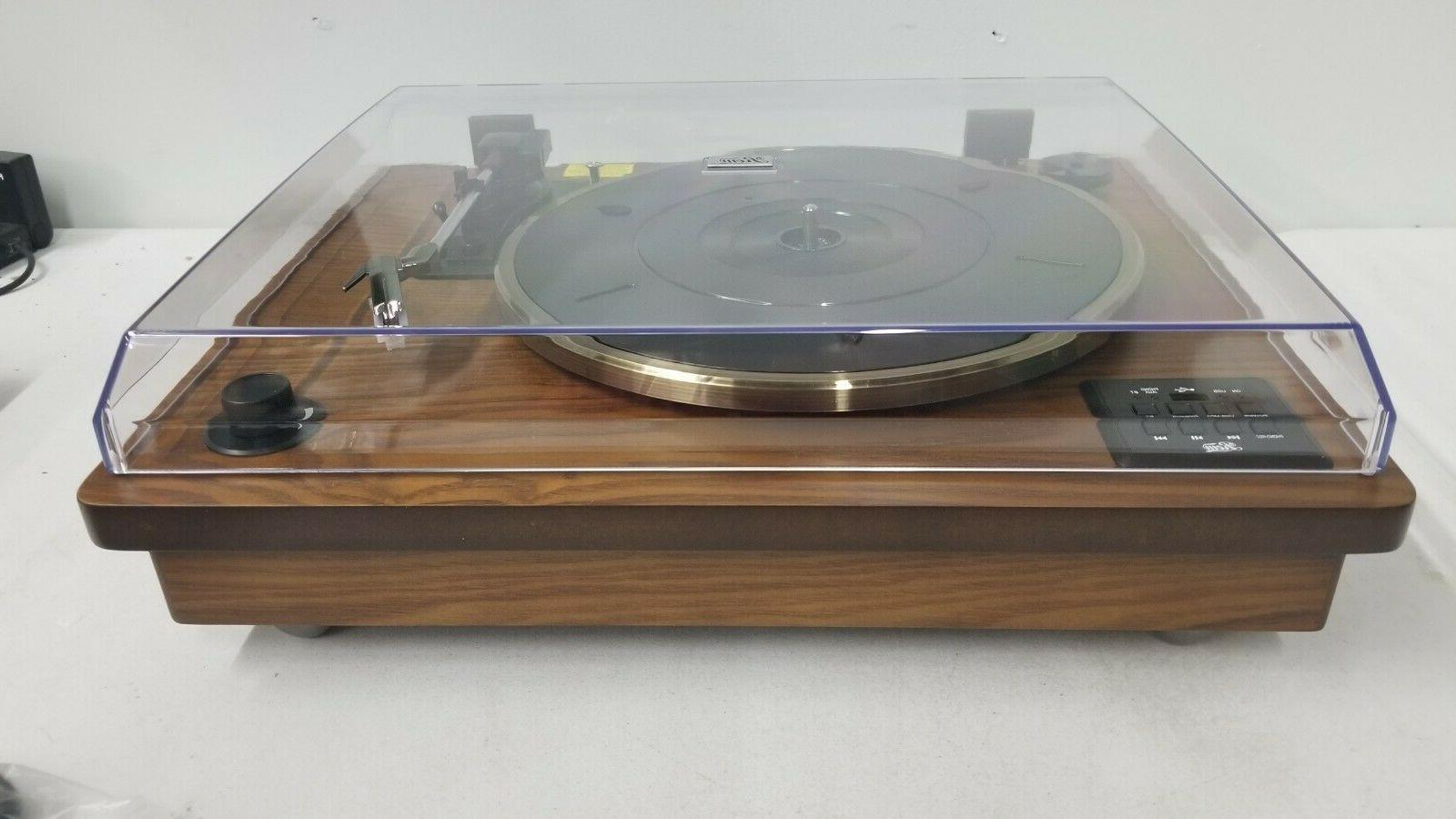 Rcm 2-Speed Stereo Vinyl Record Player