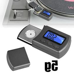 LED Digital Cartridge Turntable Stylus Force Scale Gauge For