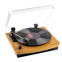 lp 3 speed turntable with built in