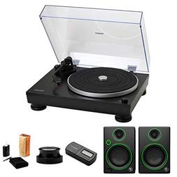 Audio-Technica AT-LP5 Turntable with CR4 Monitors, Knox Reco
