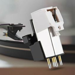 Magnetic Cartridge Stylus with LP Vinyl Needle for-Turntable