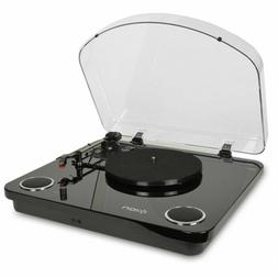 Ion Max LP 3 Speed Conversion Turntable with Stereo Speakers