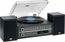 Teac - MC-D800 - Stereo Turntable System - Black