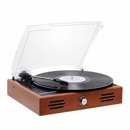 mini stereo turntable 3 speed record player