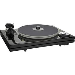 Music Hall MMF-7.3 2-Speed Audiophile Turntable - Black