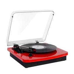 Musitrend LP 3-Speed Turntable with Built-in Stereo Speakers